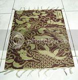 Placemat Mendong Batik AK