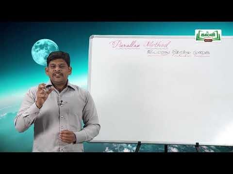 முப்பரிமாணம் Std 11 Physics இயல் உலகத்தின் தன்மை பகுதி 2 Kalvi TV