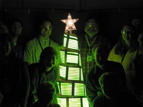 OLED christmas lighting