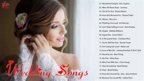 Best Wedding Songs 2018   Top 20 Beautiful Wedding Songs