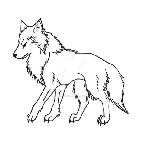 anime wolf   xspiritwarriorx  deviantart