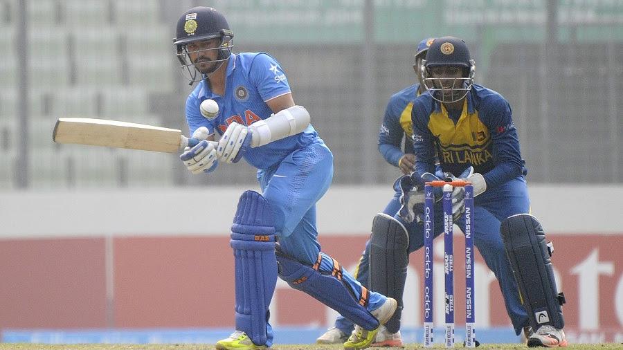 India vs Sri Lanka Under 19 Cricket World Cup First Semi Final