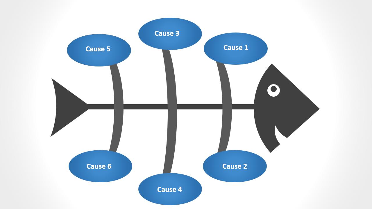 Premium fishbone diagram
