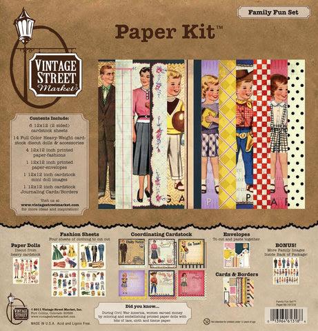 Family Fun Paper Kit