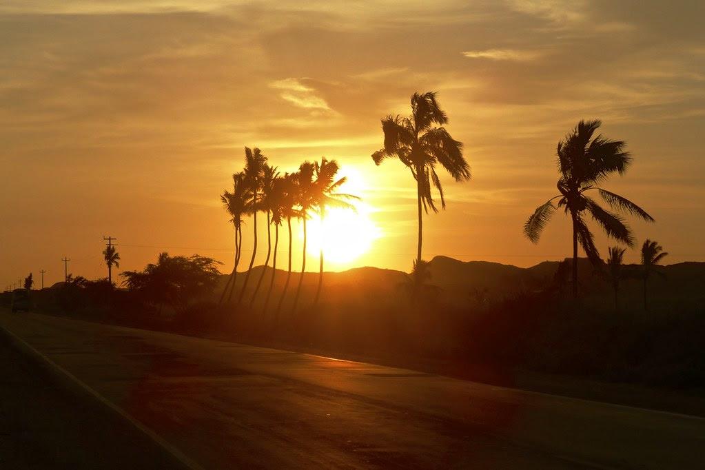 Sunset at Sullana, Perú