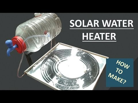 How to Make Solar Water Heater with Spiral Copper Pipe