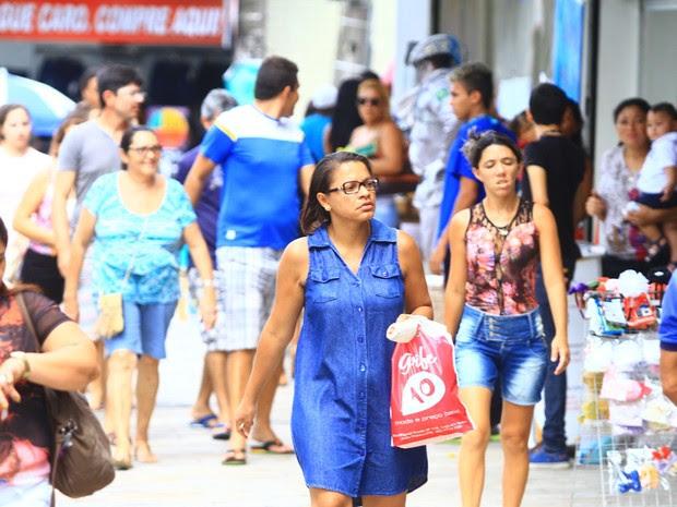 Comércio de João Pessoa (Foto: Rizemberg Felipe/Jornal da Paraíba)
