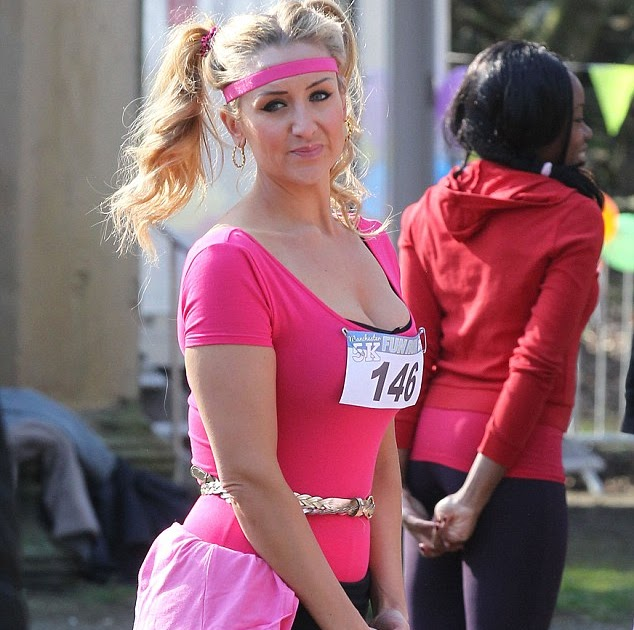 KATCHING MY I: Catherine Tyldesley is hard to miss in ...