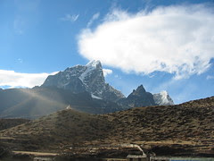 Taboche Peak from Dingboche