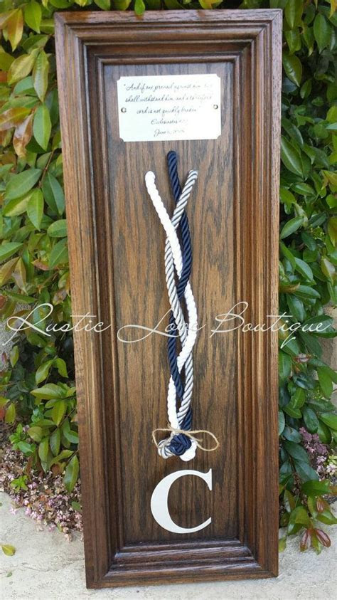 Unity Ceremony, Three Strands Wedding Braided Cord with