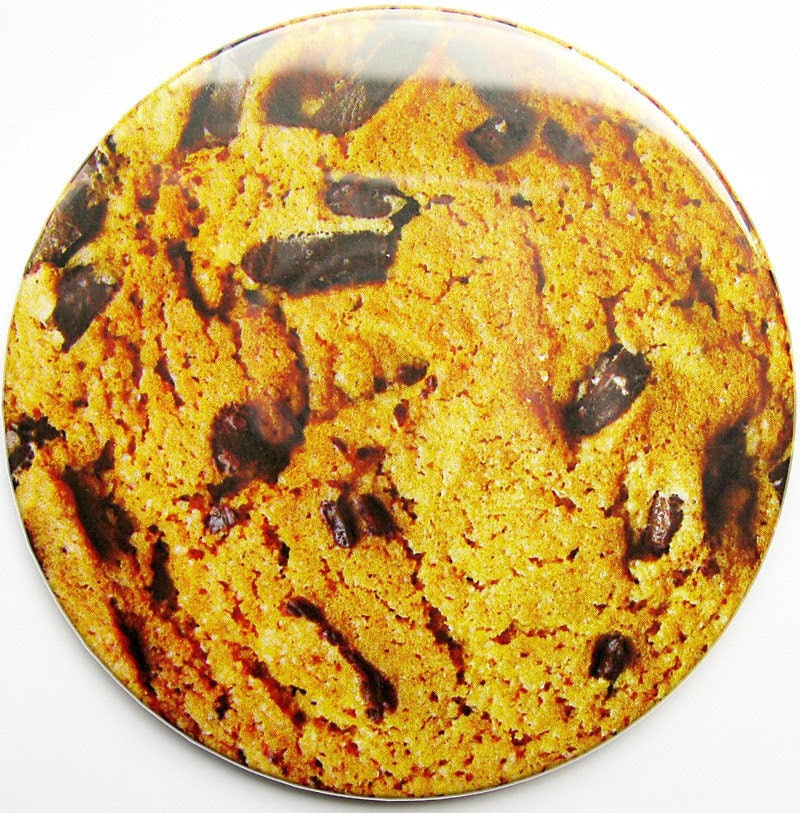 Sweet Treat - Chocolate Chip Cookie Cork Backed Drink Coaster - Set of 4