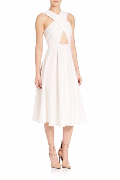 Kendall + Kylie Cross-Front Dress