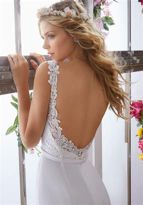 Megan Wedding Dress   Style 6853   Morilee