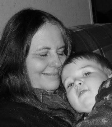 Mom and Benjamin in 2004