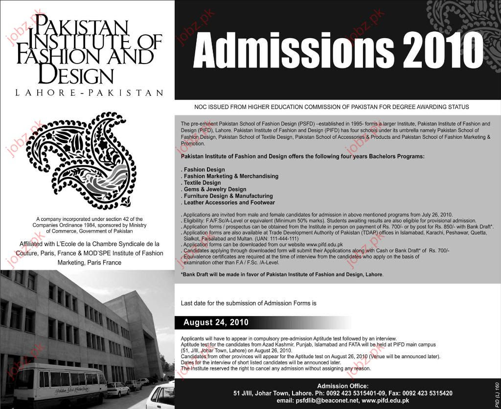 Pakistan Institute Of Fashion And Design Lahore School Style
