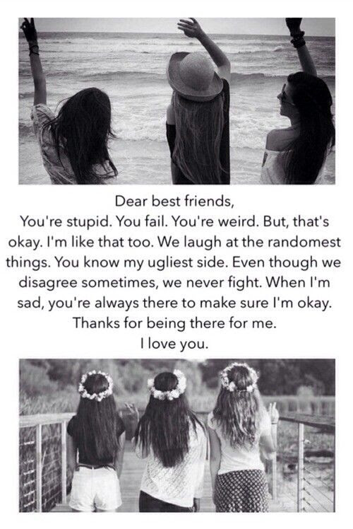 Quotes About Three Best Friends 19 Quotes