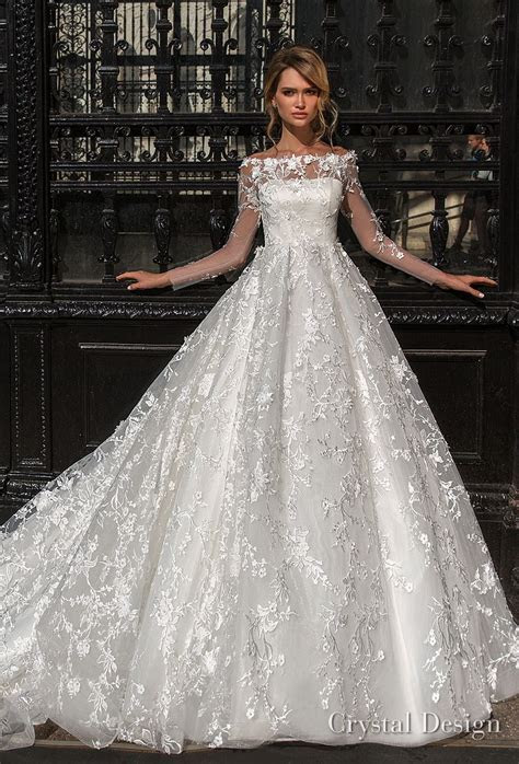 Crystal Design 2018 Wedding Dresses ? ?Royal Garden