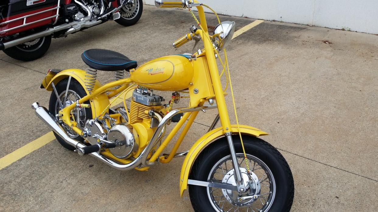 Mustang motorcycles for sale