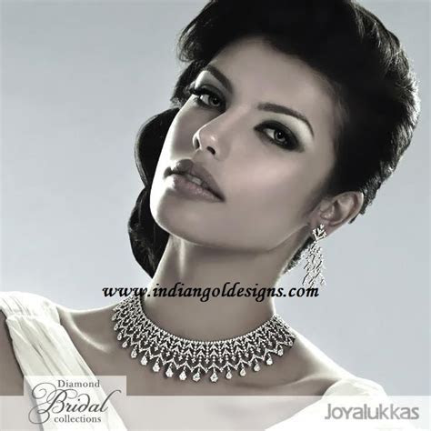 Gold and Diamond jewellery designs: joy alukkas diamond
