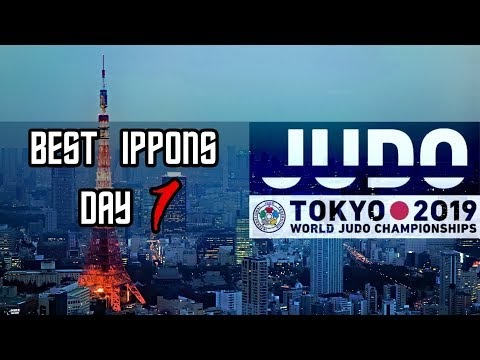 Mundial de Judô no Japão - DIA 1