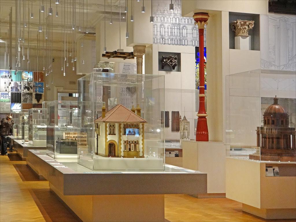 L'architecture au Victoria and Albert Museum (Londres)