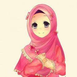 gambar kartun wanita muslimah  kartun muslim