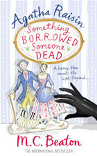 Cover of Something Borrowed, Someone Dead