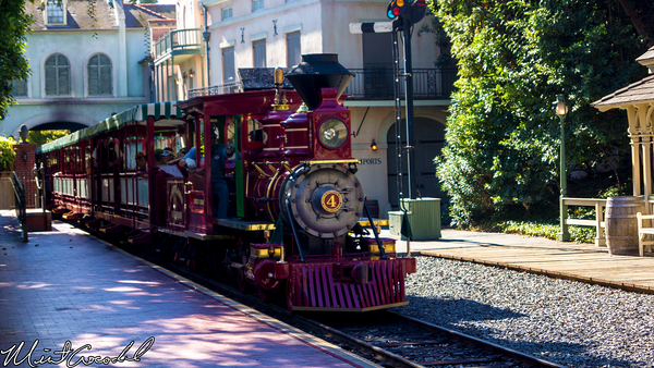 Disneyland Resort, Disneyland, Railroad, New, Audio, Overhaul, System