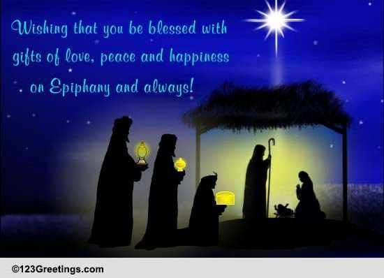 Epiphany Cards, Free Epiphany Wishes, Greeting Cards  123 Greetings
