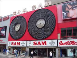 Sam Th e Record Man, Yonge St, June 3, 2007