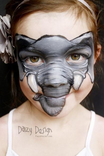 Yüz Boyama Sanatı