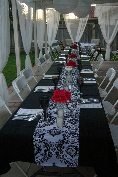 Best 25  Red bridal showers ideas on Pinterest   Gold