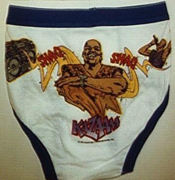 Shaq underwear