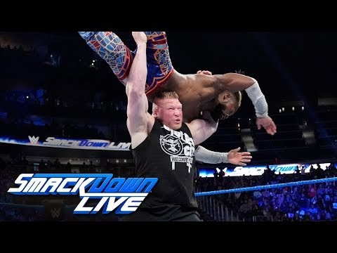 Brock Lesnar Returns and Delivered a F5 to Kofi Kingston