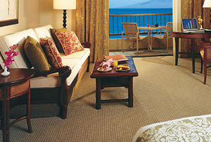 Deluxe Ocean Front Room at the Hyatt Regency Resort