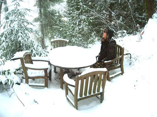 jo in snow