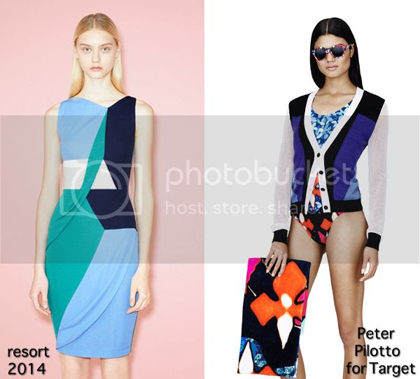 Peter Pilotto for Target colorblocking