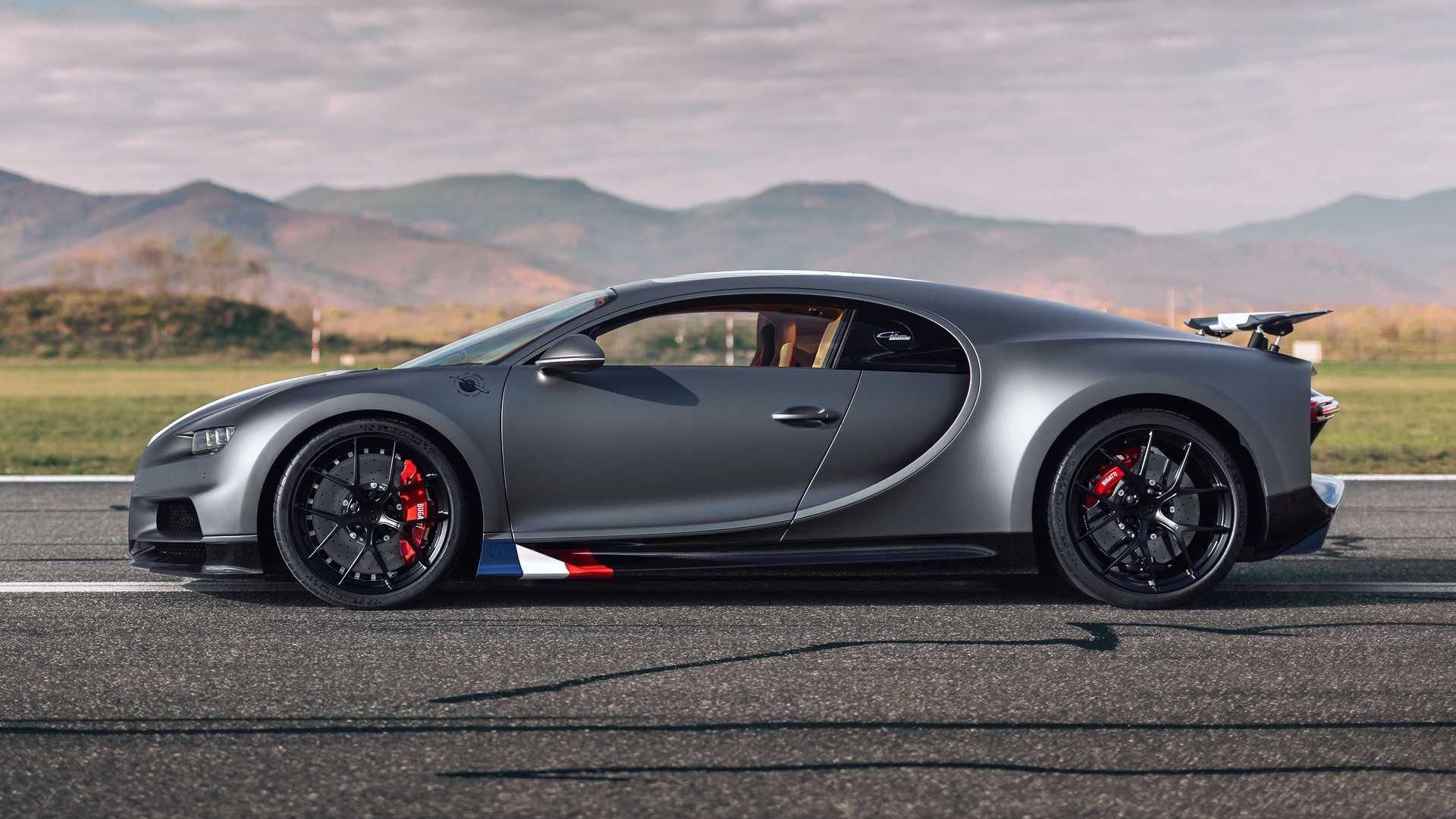 Bugatti Chiron Sport Les Légendes Du Ciel: 20 unidades en honor a la aviación   Lista de Carros