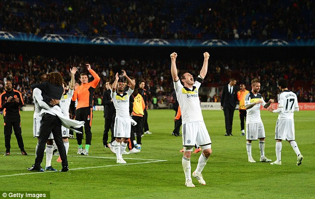 Roll on Munich: Chelsea will face Real Madrid or Bayern in the final