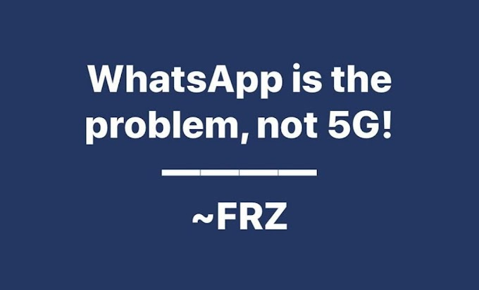 Covid-19: How WhatsApp is the problem not 5G – Daddy Freeze