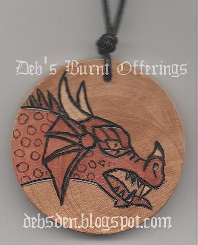 Dragon necklace by Debra Arnold