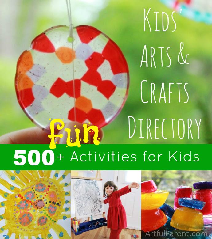 Los Padres ingeniosos para niños Artes y Oficios Directorio - Más de 500 actividades divertidas ingeniosas para los niños!