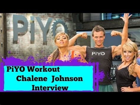 chalene johnson piyo workout official interview youtube
