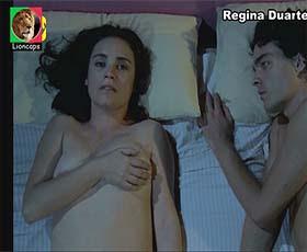 Regina Duarte nua no filme Alem da paixão
