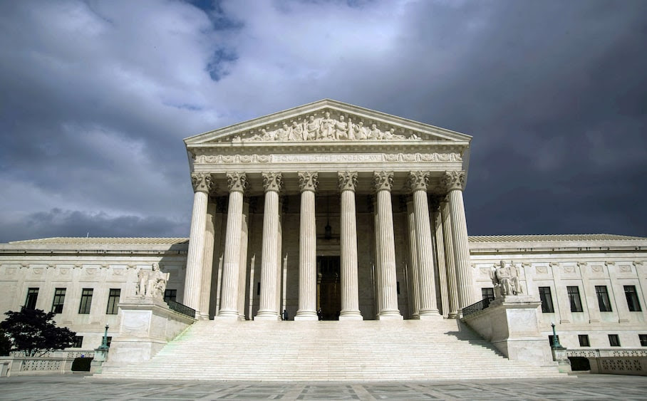 (FILES) File photo dated March 31, 2012 shows the US Supreme Court Building in Washington, DC. The US Supreme Court opened a new term October 6, 2014y rejecting calls for a nationwide ruling on same-sex marriage. AFP PHOTO/Karen BLEIER/FILESKAREN BLEIER/AFP/Getty Images