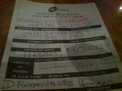 $60 pokie win claim form