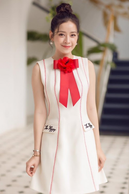 Chi Pu quả lợi hại! 'Chặt đẹp' cả Angela Phương Trinh và Tú Hảo khi diện lại thiết kế cũ - Ảnh 1.