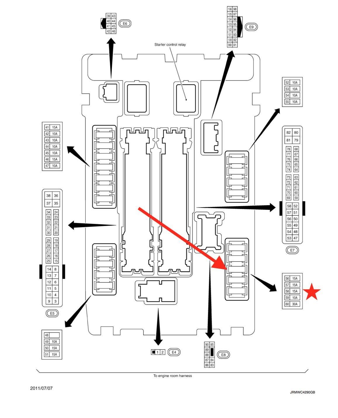F09 2005 Mercury Montego Fuse Box Diagram Wiring Resources