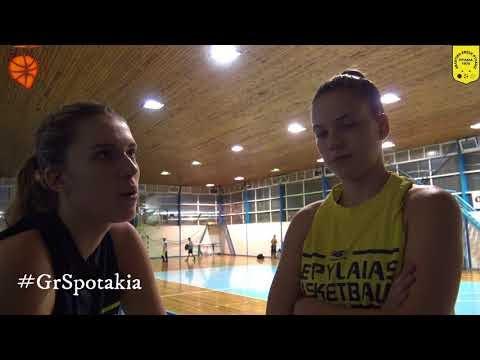 Κατσαμούρη και Τζήμου μιλούν για το παιχνίδι των γυναικών της ΑΕ Πυλαίας με τον Αρη για το κύπελλο Ελλάδας