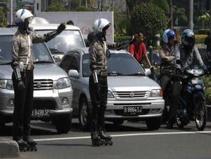 Mobil di stop, Anggota DPR Pukul Polantas